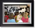 image_kids_and_cow-framed